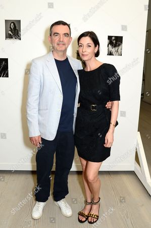 Stock Picture of Simon Aboud and Mary McCartney