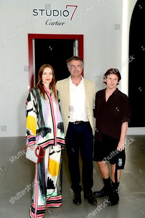 Stock Photo of Roksanda Ilincic, Laurent Feniou and Christopher Kane