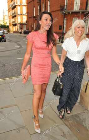 Michelle Heaton and her mother
