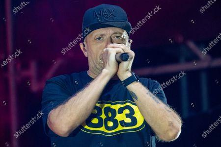 Editorial photo of Max Pezzali concert, Villafranca di Verona, Italy - 21 Jul 2021