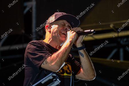Editorial picture of Max Pezzali concert, Villafranca di Verona, Italy - 21 Jul 2021