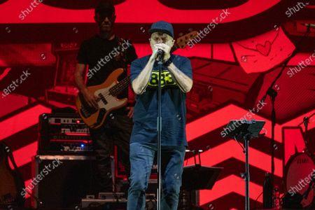 Editorial image of Max Pezzali concert, Villafranca di Verona, Italy - 21 Jul 2021