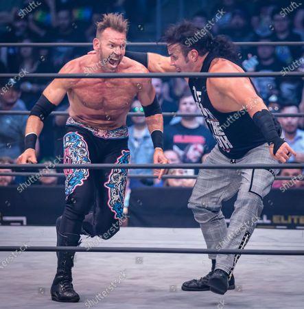 Christian Cage and Matt Hardy