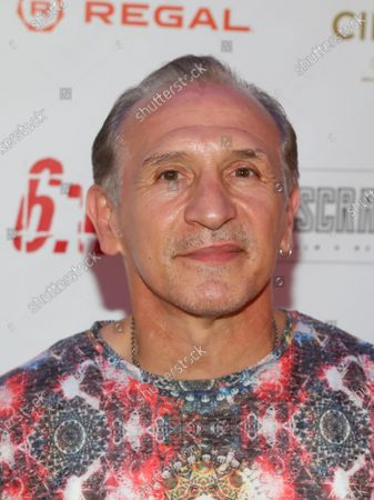 """Boxer Ray Mancini attends the premiere of """"6:45"""" at Regal Union Square, in New York"""