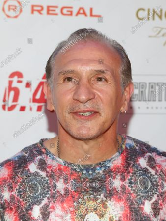 """Stock Photo of Boxer Ray Mancini attends the premiere of """"6:45"""" at Regal Union Square, in New York"""