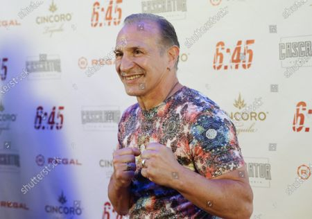 """Ray Mancini arrives on the red carpet at the """"6:45"""" New York Premiere at Regal Union Square on July 21, 2021 in New York City."""