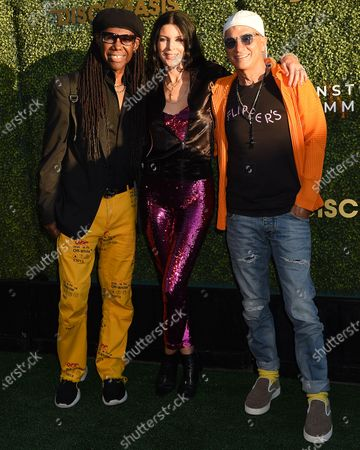 Nile Rodgers, Liberty Ross and Jimmy Iovine