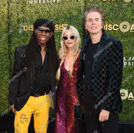Nile Rodgers and John Taylor
