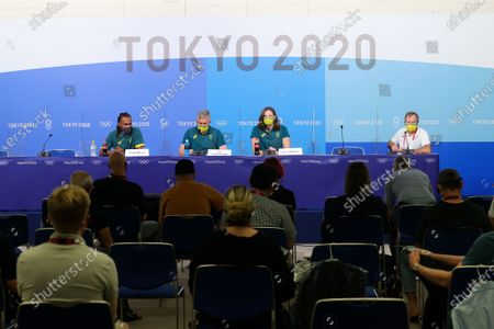 Editorial photo of Tokyo Olympic Games 2020, Tokyo, Tokyo, Japan - 22 Jul 2021