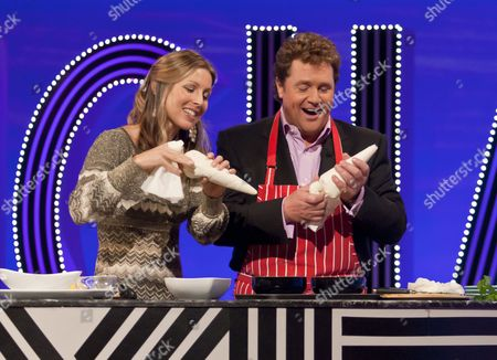 Jo Pratt and Michael Ball