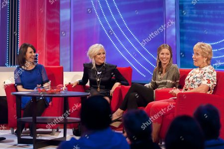 Arlene Phillips, Pixie Lott, Jo Pratt and Christine Hamilton