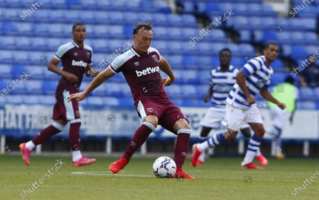 West Ham United's Mark Noble during Friendly between Reading and West Ham United at Select Car Leasing Stadium , Reading, UK on 21st July 2021
