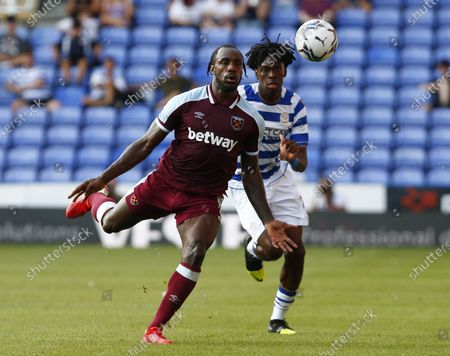 West Ham United's Michail ANTONIO during Friendly between Reading and West Ham United at Select Car Leasing Stadium , Reading, UK on 21st July 2021