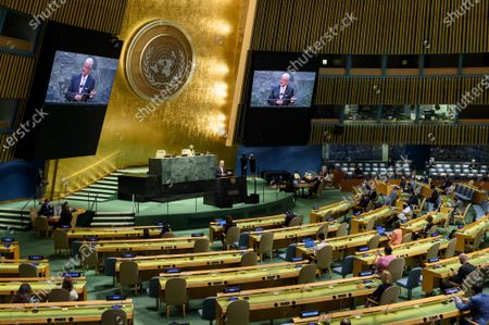 Editorial image of A General Assemby Informal Meeting Mandela Day - 22 Jul 2021
