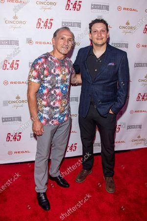 Editorial picture of '6:45' film premiere, New York, USA - 21 Jul 2021
