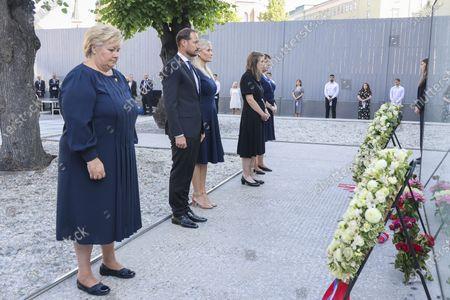 Editorial image of 10-year commemoration of the 2011 Utoya terrorist attack, Oslo, Norway - 22 Jul 2021