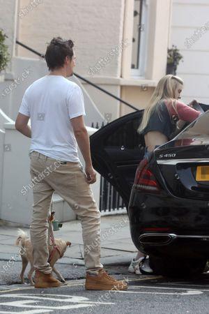 Exclusive - Matt Bellamy and Elle Evans