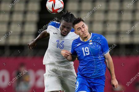 Editorial photo of Tokyo Olympics Soccer, Kashima, Japan - 22 Jul 2021