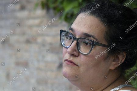 The writer Carmen Maria Machado at the 20th International Literature Festival of Rome
