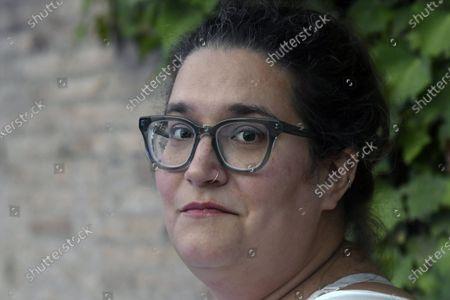 Stock Image of The writer Carmen Maria Machado at the 20th International Literature Festival of Rome