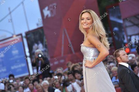 Stock Image of Tatana Kucharova - Miss World 2006