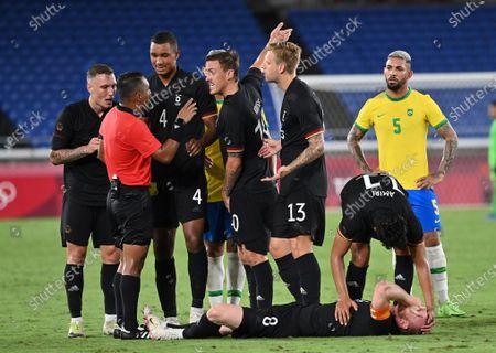 Editorial image of Japan Yokohama Oly Football Men Brazil vs Germany - 22 Jul 2021