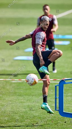 Juan Diego Molina 'Stoichkov' during training session of SD Eibar at Sports City of Atxabalpe on Jul 22, 2021 in Mondragon, Spain.