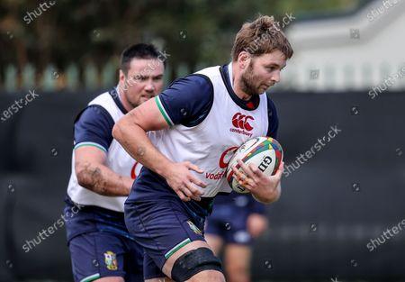 British & Irish Lions Squad Training, South Africa 22/7/2021. Iain Henderson