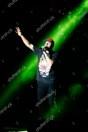 Editorial photo of Nicky Jam in concert, Starlite Catalana Occidente Festival, Marbella, Spain - 20 Jul 2021