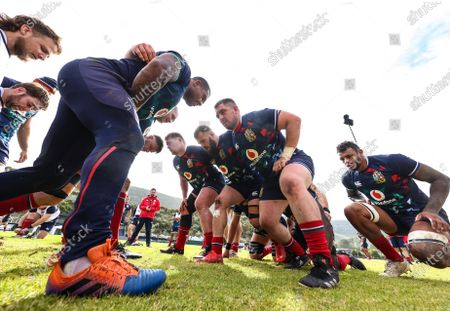 Editorial picture of 2021 British & Irish Lions Tour To South Africa - 22 Jul 2021