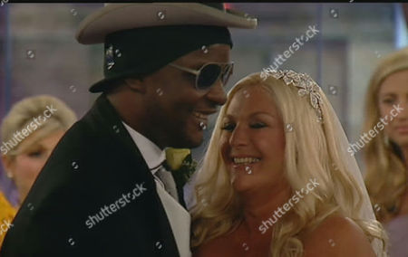 Victor Ebuwa and Vanessa Feltz