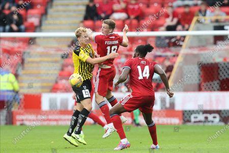 Editorial photo of Aberdeen v BK Hacken, Europa Conference League - 22 Jul 2021