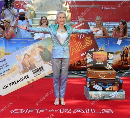 Editorial picture of Off The Rails world film premiere in London, United Kingdom - 22 Jul 2021