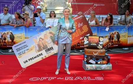 Editorial image of Off The Rails world film premiere in London, United Kingdom - 22 Jul 2021
