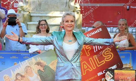 Jenny Seagrove attends the world premiere of the movie 'Off The Rails' at Leicester Square in London, Britain, 22 July 2021.