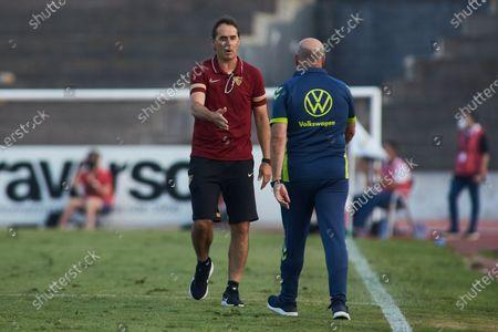 Editorial image of Sevilla v Las Palmas - Friendly Match, Cadiz, Spain - 22 Jul 2021