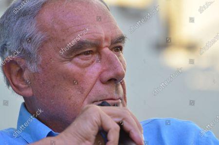 """Editorial image of Senator Pietro Grasso guest at """"Festa dell'Unità"""", Naples, Campania, Italy - 22 Jul 2021"""