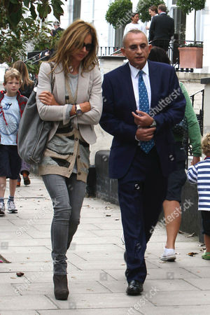 Stock Photo of Trinny Woodall and Johnny Elichaoff