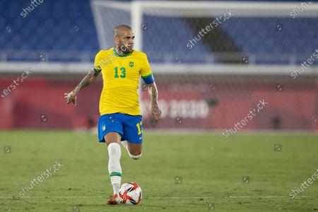 Daniel Alves of Brazil