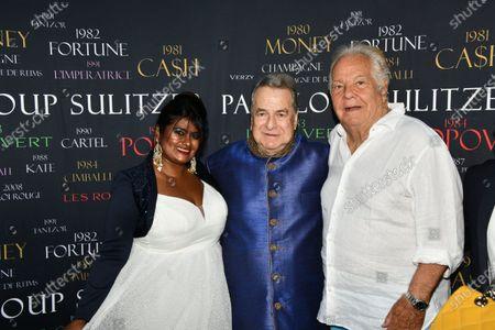 Editorial picture of Birthday of Paul Loup Sulitzer, Hotel de Paris, Saint Tropez, France - 22 Jul 2021