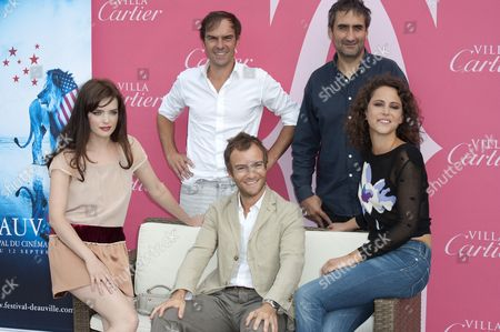 Editorial photo of Jury's revelation photocall, 36th American Film Festival, Deauville, France - 05 Sep 2010