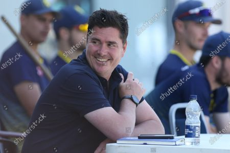 Stock Photo of Durham Director of Cricket, Marcus North, seen during the Royal London One Day Cup match between Kent and Durham at the County Ground, Beckenham, UK on 22nd July 2021.