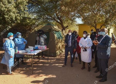 Editorial image of Botswana Kweneng District Vaccination Rollout - 22 Jul 2021