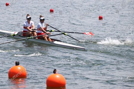 Editorial photo of Japan Tokyo Oly Rowing Heat - 23 Jul 2021