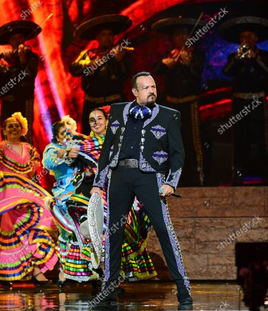 Pepe Aguilar performs onstage