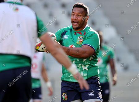 British & Irish Lions Captain's Run, Cape Town, South Africa 23/7/2021. Mako Vunipola