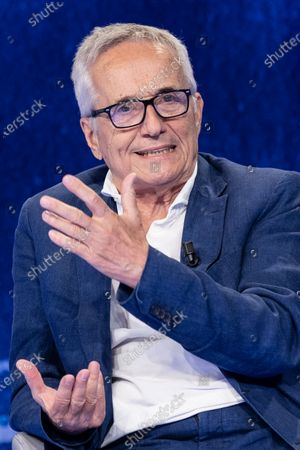 """Stock Picture of The director Marco Bellocchio during the tv show """"In Onda"""""""