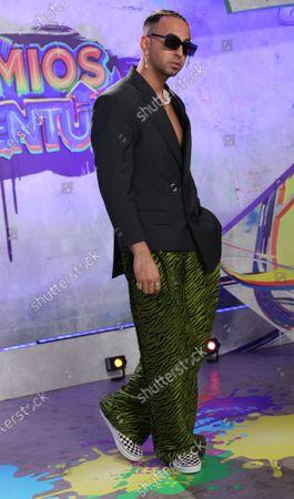 Editorial photo of Premios Juventud 2021, Miami, Florida, United States - 23 Jul 2021