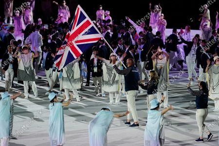 Editorial photo of Olympics Opening Ceremony, Tokyo, Japan - 23 Jul 2021