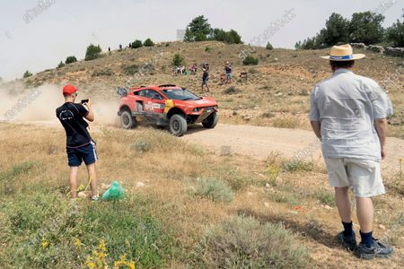 Editorial picture of Baja Aragon Rally - 1st stage, Teruel, Spain - 23 Jul 2021